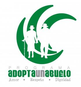 Logo - Adopta un Abuelo - verde