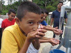 Boy drinking water (2)