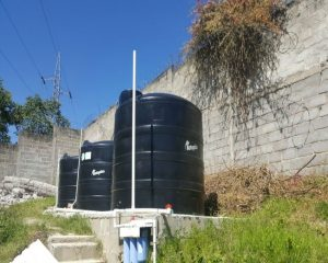 Installation of Water Tanks