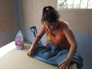 Lady Ironing