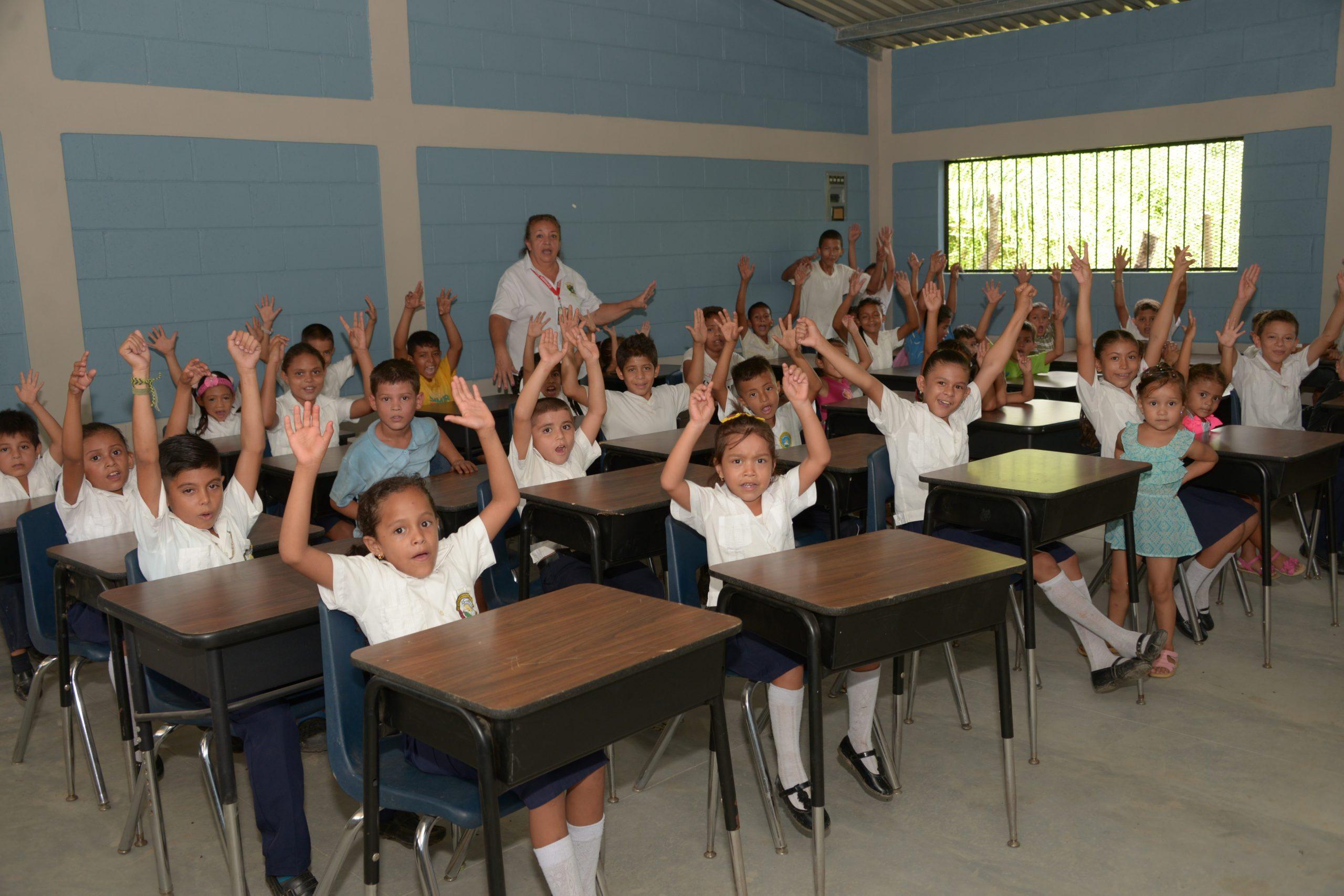 Inauguración de la Escuela Blas Guerrero