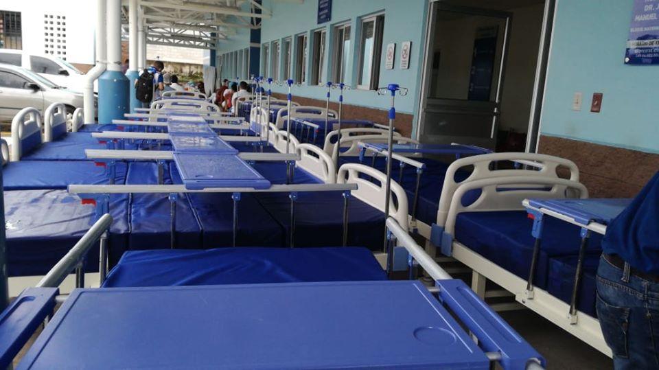 Donación de 120 camas hospitalarias para ayudar a combatir el COVID-19 en Honduras