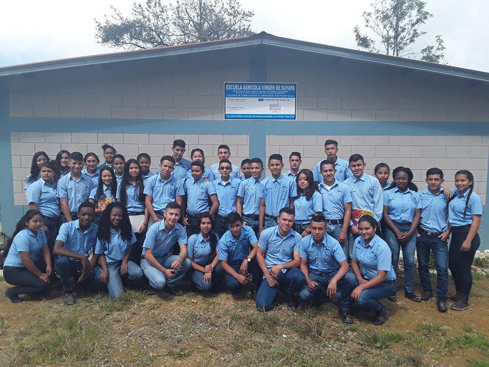 Inauguración de la Escuela Agrícola Virgen de Suyapa