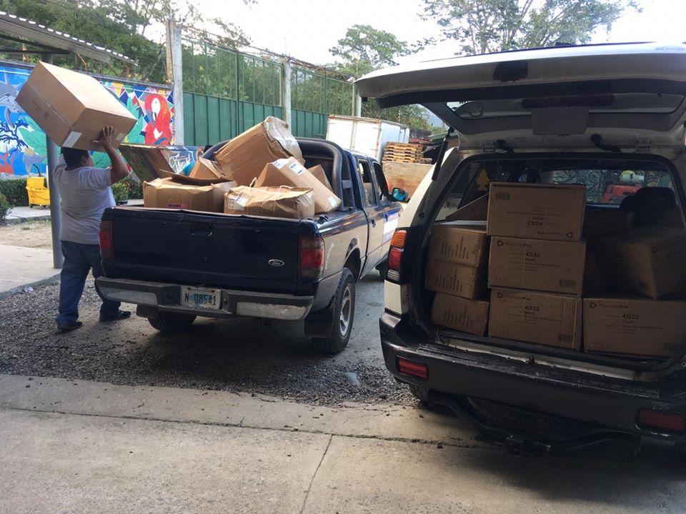Donación a Hospital de El Progreso