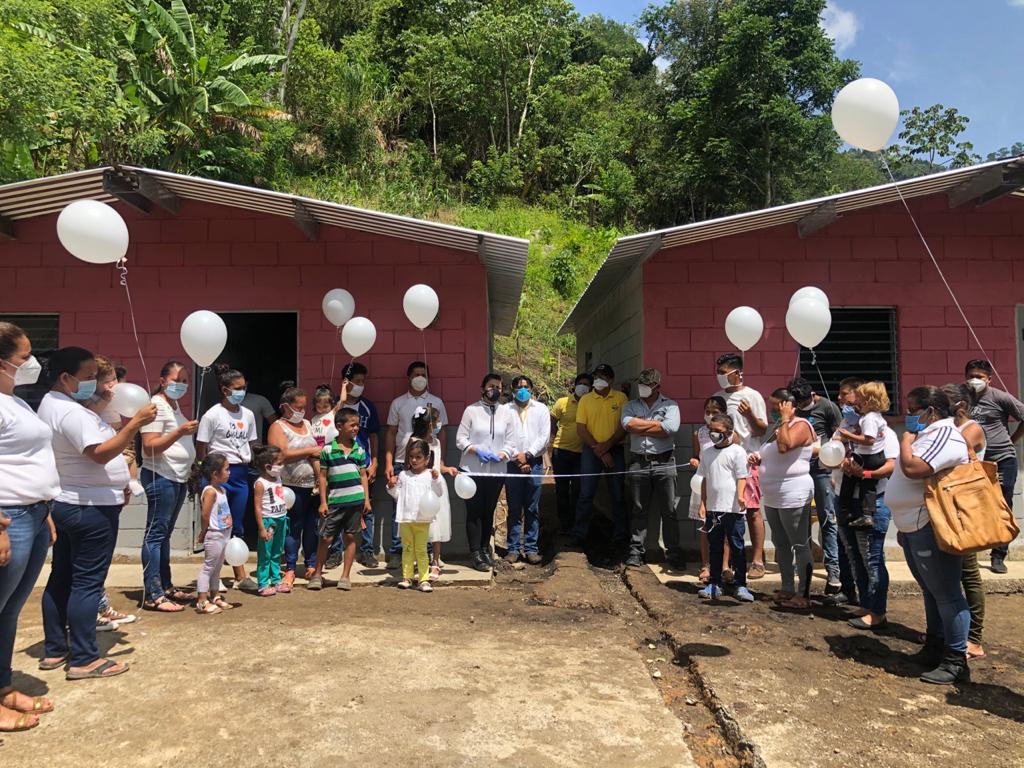 Life changing gift for Doña Sabina and her family