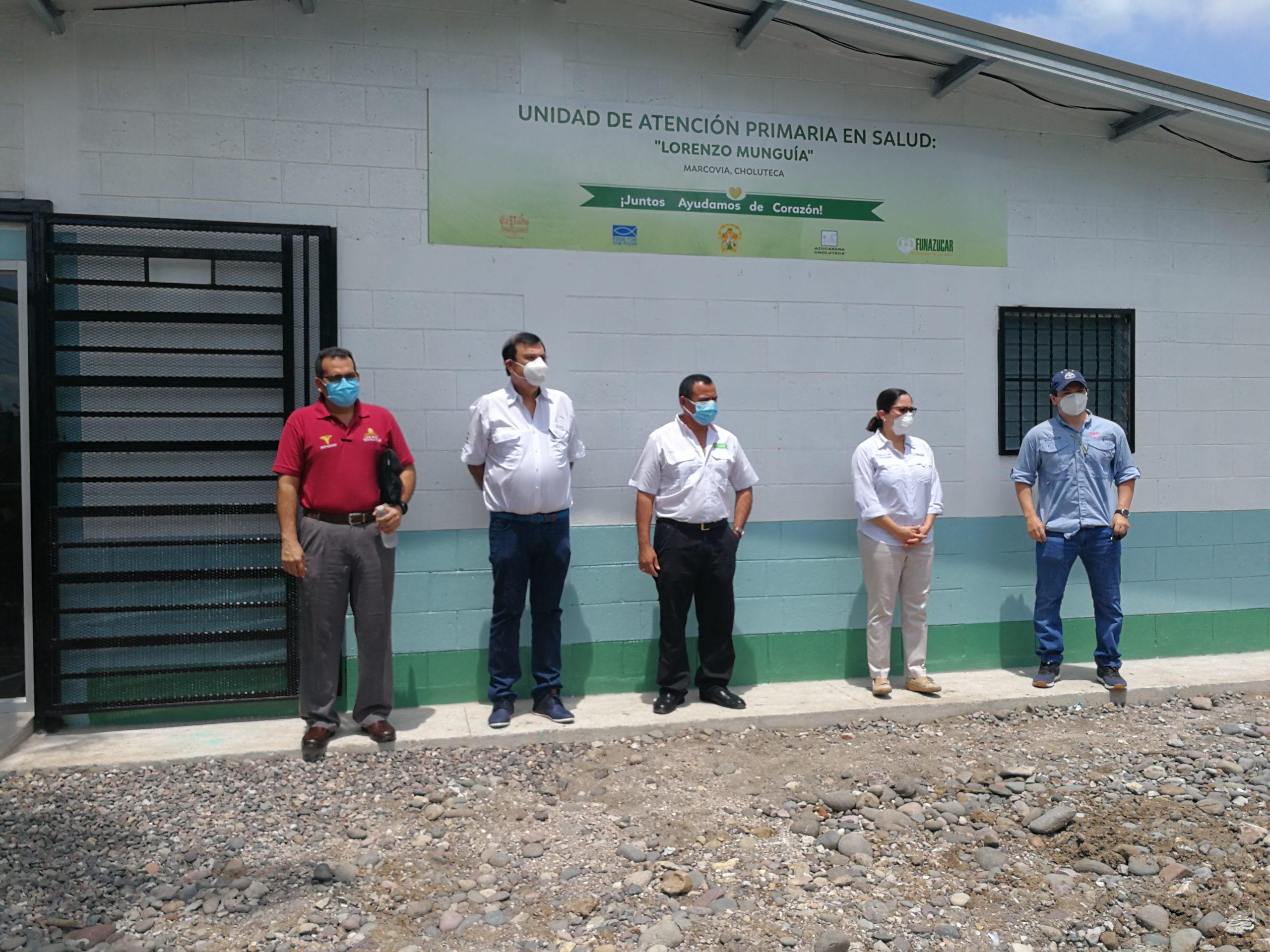 Inauguración de la Clínica Lorenzo Munguía en Marcovia, Choluteca