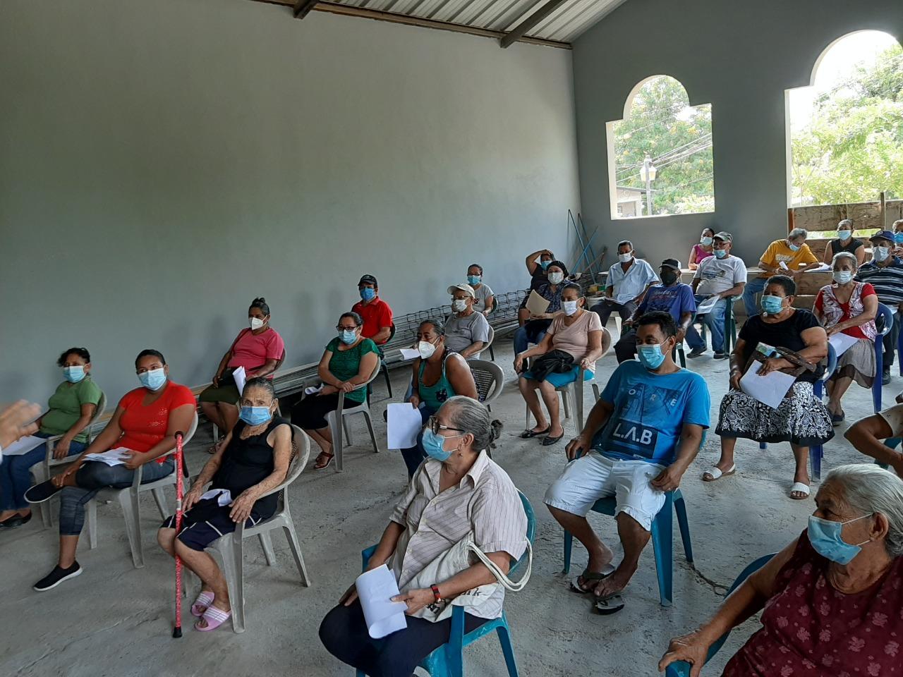 Adopt a Grandparent Donation in Altos de Sula