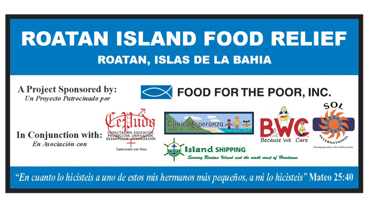 ROATAN ISLAND FOOD RELIEF