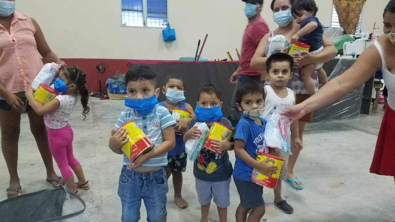 Agradecimiento a la generosidad de Nestle Hondureña S.A.