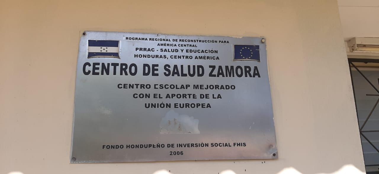 Entrega de un pozo en la Comunidad Zamora, Tocoa, Colón.