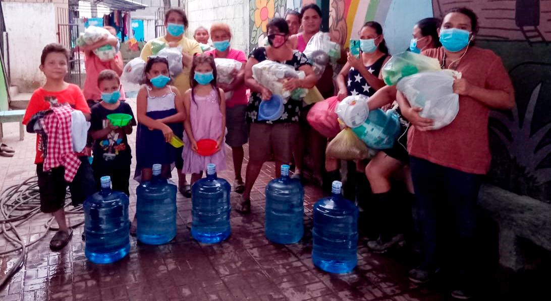 Donaciones en Albergues área de Chamelecón y alrededores