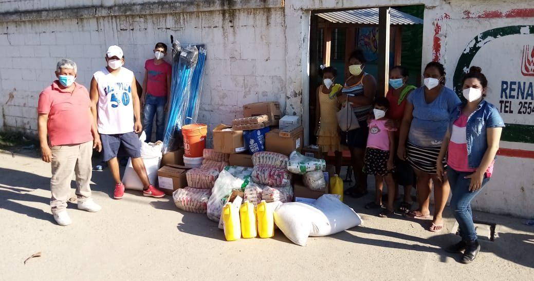 Donaciones a Albergue ubicado en La Escuela Yankel Rosenthal en San Pedro Sula