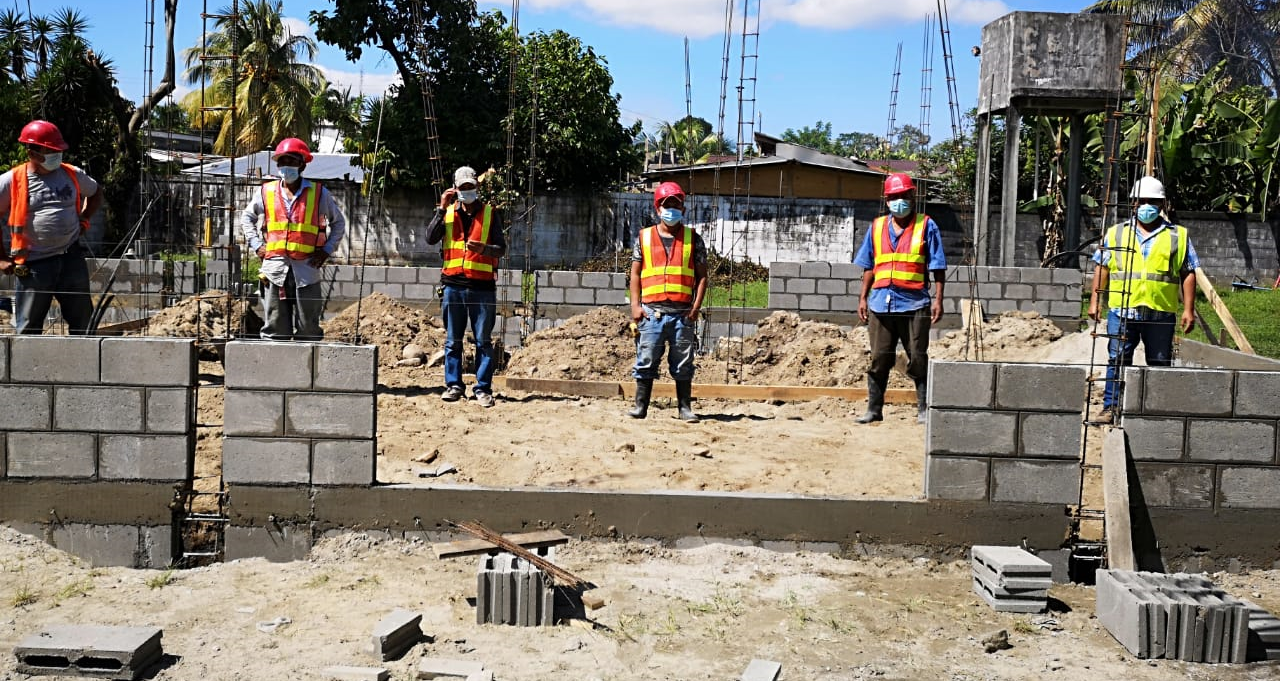 Project: Construction of a health center in Tegucigalpita, Omoa