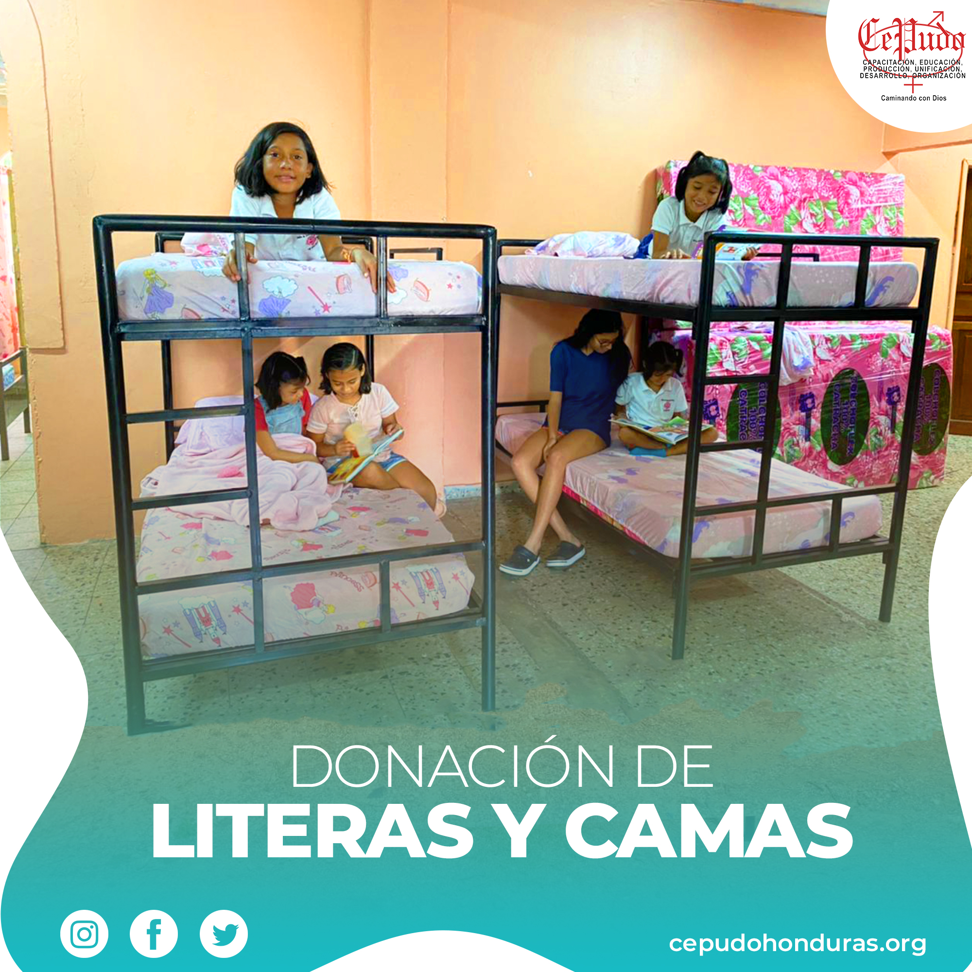 Donation of Bunk Beds and Beds